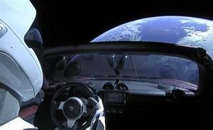 Voiture Tesla Dans L Espace : les images incroyables de la tesla roadster dans l 39 espace ~ Medecine-chirurgie-esthetiques.com Avis de Voitures