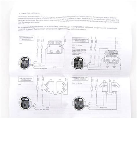 Ultima Ignition Wiring Diagram by Programmable Single Ultima Ignition Module Pc Data