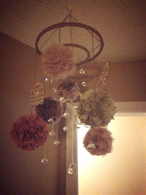 shabby chic baby mobile shabby chic nurseries chic nursery and mobiles on pinterest
