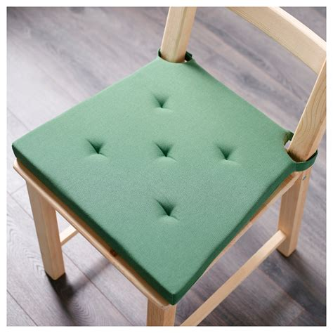 carreau de chaise justina carreau de chaise vert 35 42x40x4 0 cm ikea