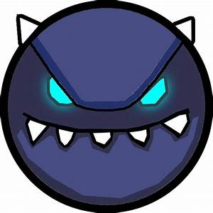 Easy Geometry Dash Demon Face Pictures to Pin on Pinterest ...