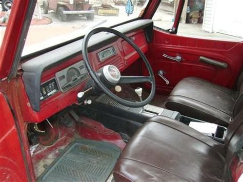 jeep jeepster interior find used 1968 willys jeepster commando in island pond