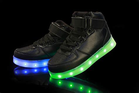 led light up shoes in stores kids usb charging led light up luminous shoes boys girls