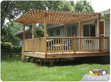 decks with pergolas photo gallery arbors pergolas photo gallery decks decks and more decks custom deck builder omaha