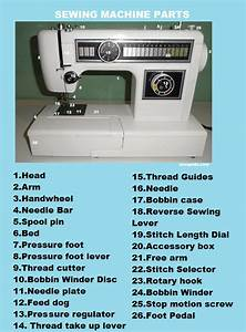 A Guide To  Sewing Machine Parts