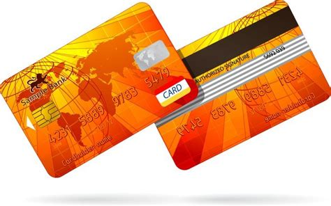 bank card fine  vector  file