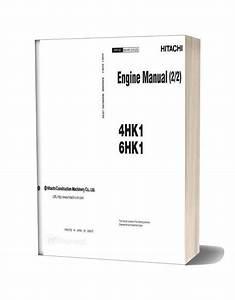 Hitachi 4hk1 6hk1 Engine Sm