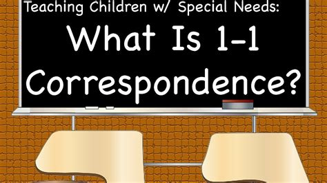 one to one correspondence special needs tips amp tricks 261 | maxresdefault