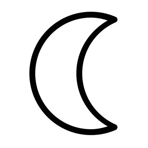 iphone moon symbol moon symbol icon free png and svg