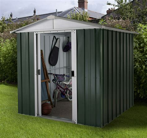 Yardmaster Deluxe Apex Metal Shed 6ft x7ft   Metal Sheds