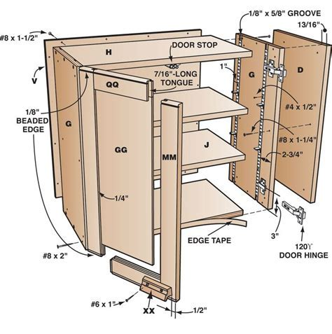 Plywood Shop Cabinet Plans   WoodWorking Projects & Plans