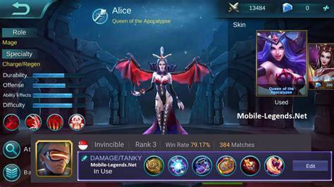Alice Damage-tanky Build 2019