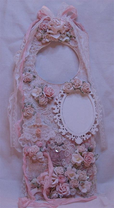shabby chic door hangers 212 best images about vintage lace doily wall hangings on pinterest shabby chic fabrics and