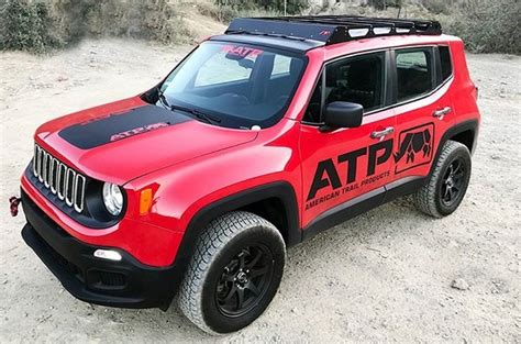 awesome roof rack system  renegade  american trail  carid jeep renegade forum