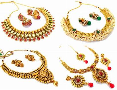 Jewellery Indian Jewelry Gold Necklace Bangles Chura