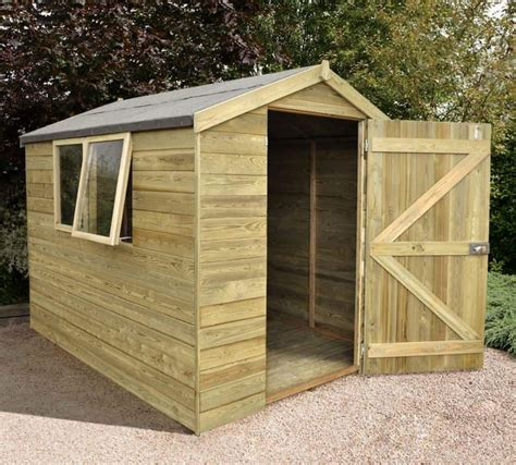 shed  heavy duty tongue  groove wooden shed