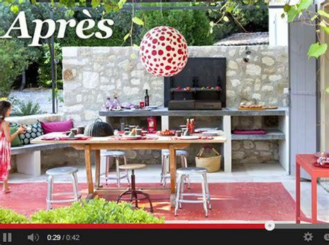 cuisine d exterieur stop motion une terrasse relookée en cuisine d 39 extérieur