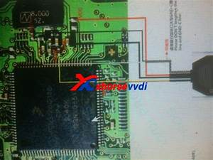 Vvdi Prog Read Opel Zafirawith Dg128  Schematic