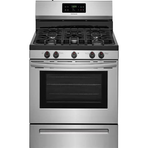 oven gas frigidaire 30 in 5 0 cu ft gas range with self cleaning