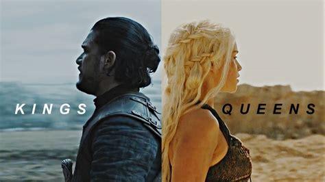 tributo jon snow daenerys targaryen kings  queens