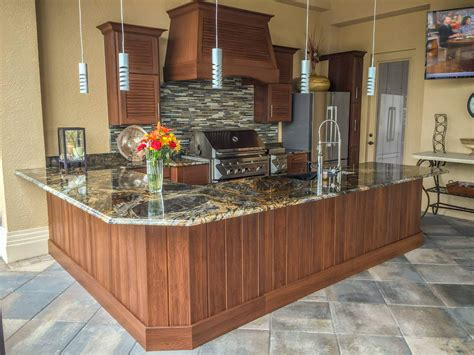 Kitchen Cabinets Cape Coral - outdoor cabinets outdoor kitchens cabinet genies cape