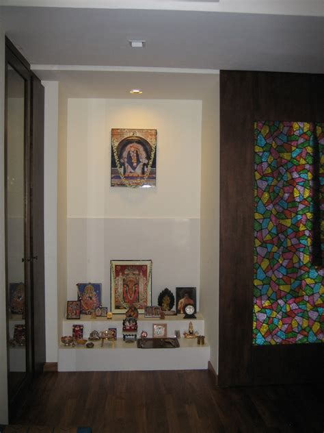 modern pooja room apartments cabinet ideas decoretion for