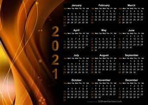 210 2021 Calendar Vectors Download Free Vector Art