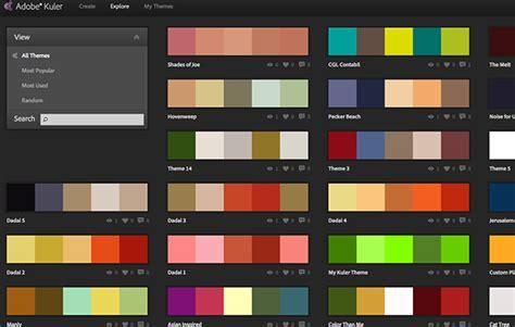 Crie facilmente paletas de cores com o aplicativo Adobe
