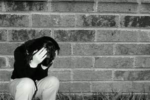 Depressed sad teen girl stock photo. Image of distressed ...