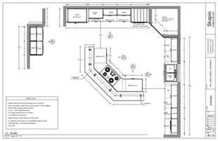 kitchen floorplan sle kitchen floor plan shop drawings