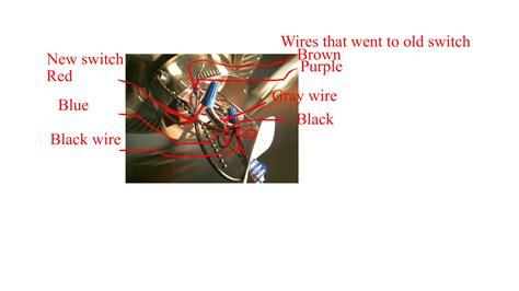 Blue Computer Fan Wire Diagram by Im Trying To Wire A 3 Wire Blue Black Cieling Fan Switch
