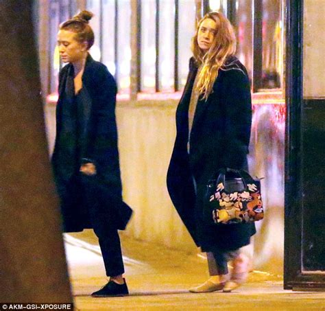 Marykate And Ashley Olsen Look Weary Leaving New York