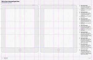 omnigraffle ux template konigi With ipad grid template