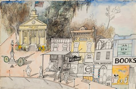 saul steinbergs view   world  chris ware nyr daily   york review  books