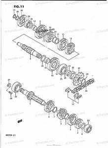 suzuki motorcycle 1992 oem parts diagram for transmission With diagram of suzuki motorcycle parts 1985 rm250 transmission diagram
