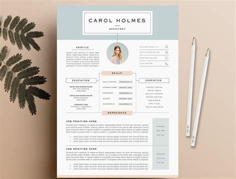 modern design resume templates simplefreethemes