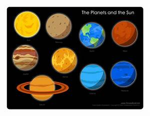 Solar System Diagram - Learn the Planets in Our Solar System