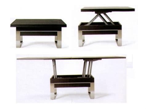 petit canapé clic clac table basse relevable et transformable dune le monde du