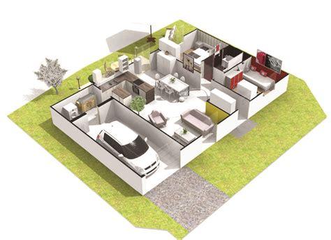 maison 3 chambres maison 3 chambres plain pied quartz logivelay