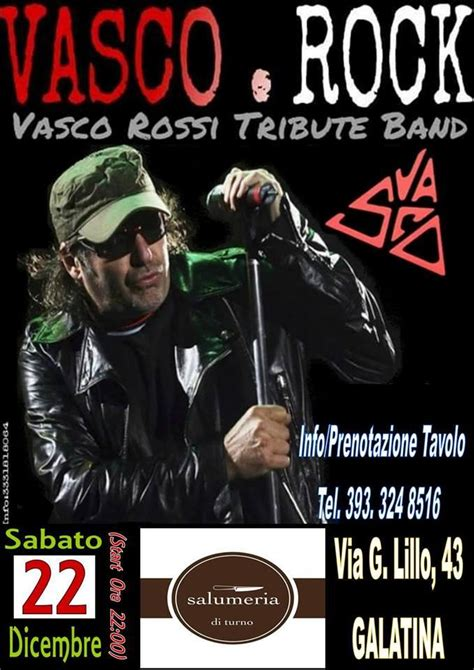 Vasco Rock by Visit Galatina Events Vasco Rock Live To Galatina