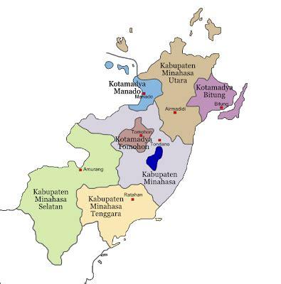 info sulut kabupaten minahasa