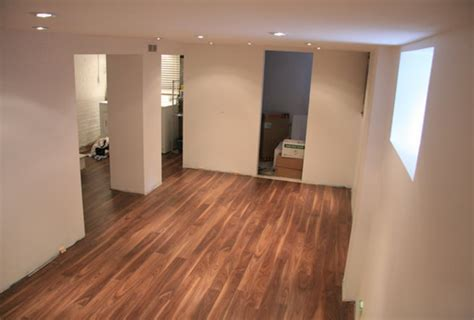 Durable and safe laminate flooring in basement   Best