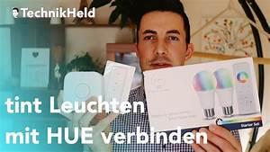 Hue Bridge Anleitung : tint led leuchten mit philips hue verbinden anleitung deutsch youtube ~ Orissabook.com Haus und Dekorationen