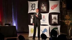 Nick Lidstrom - Michigan Sports Hall of Fame - YouTube