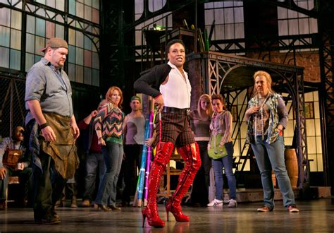 Kinky Boots The Harvey Fierstein Cyndi Lauper Musical
