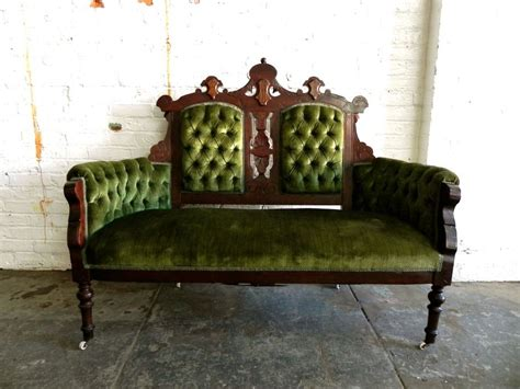 Green Settee by Green Settee Funky Luxe Seating In 2019