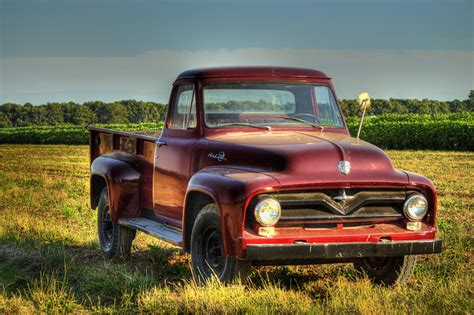 Classic Ford Truck Wallpaper