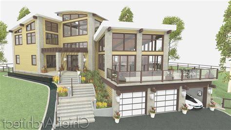 Mediterranean Architecture Plan Hillside Home Plans Lovely