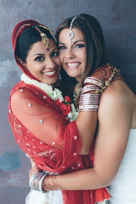 This Is Americas First Indian Lesbian Wedding And It Is