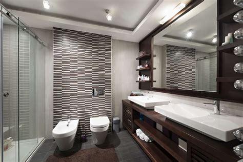 sleek modern primary bathroom ideas